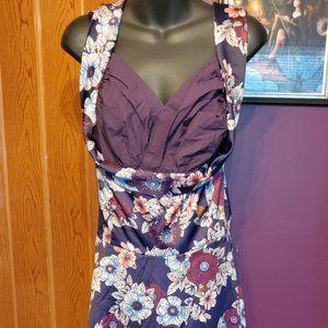 Lindy Bop Purple Retro Rockabilly Pin Up Dress